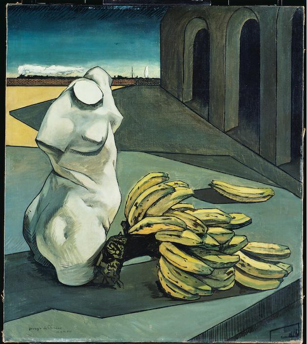 Giorgio de Chirico (1888-1978), L'Incertitude du poète, 1913