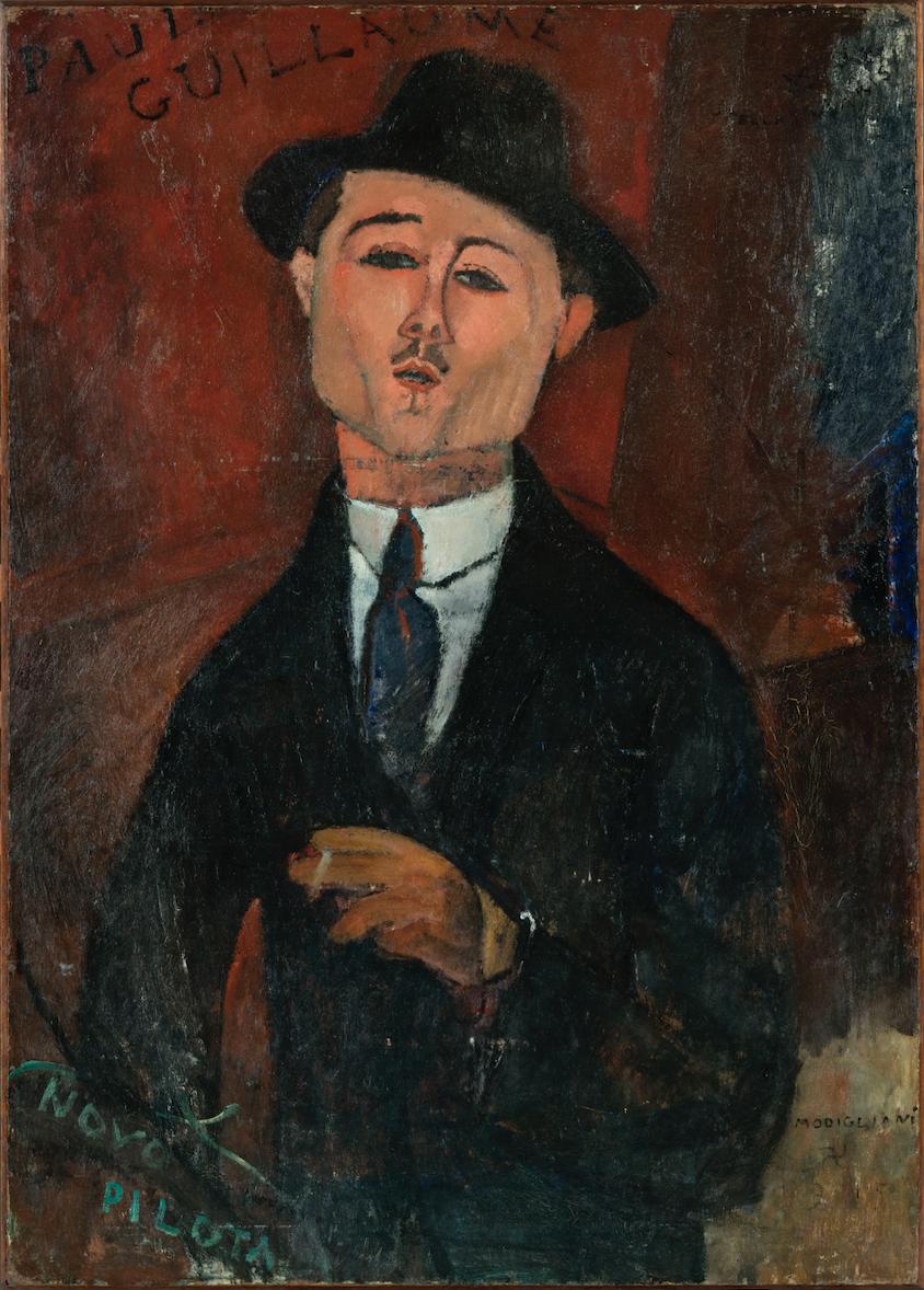Amedeo Modigliani (1884-1920), Paul Guillaume, Novo Pilota, 1915
